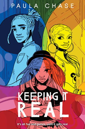 Keeping It Reel by author Paula Chase Hyman
